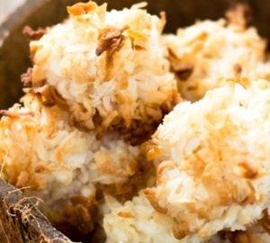 egyszerű kókuszos macaron (vegán, paleo, cukormentes)