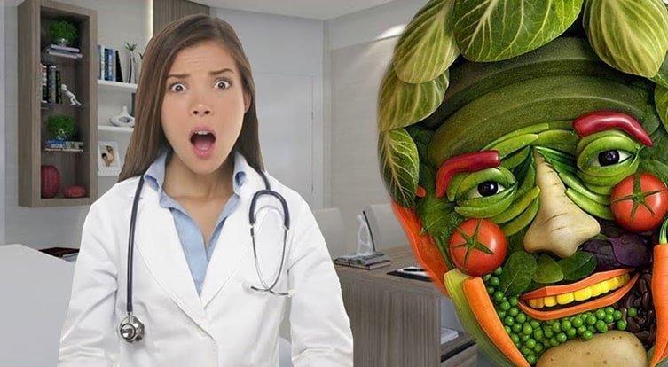 Benne van az orvos a növényi étrendben