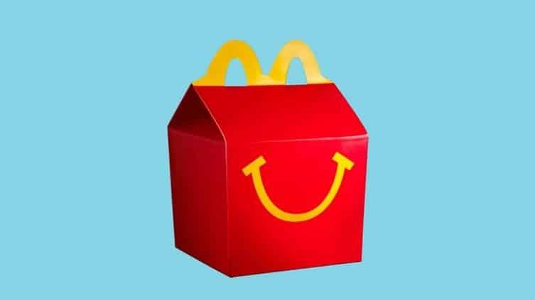 McDonald's vegán happy meal menü
