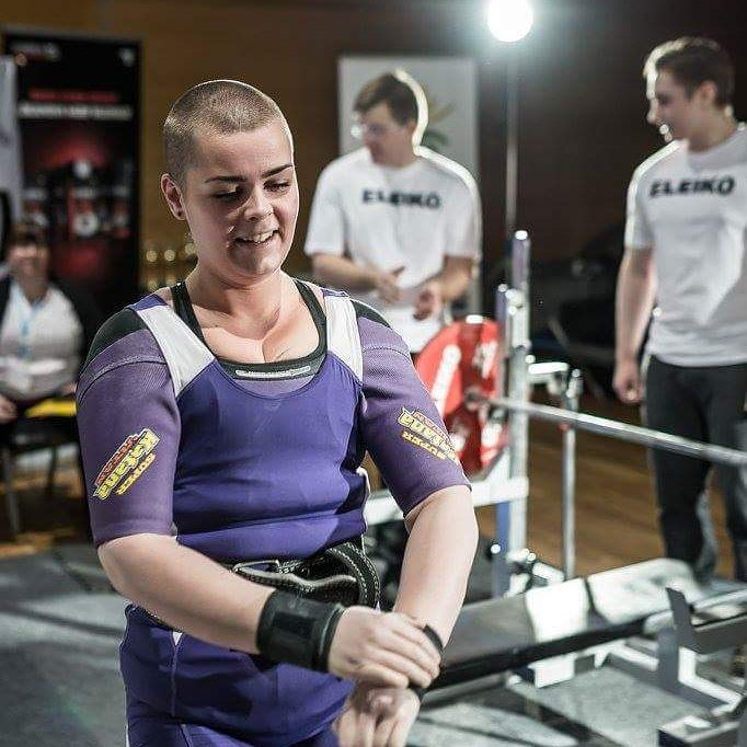 Hulda B. Waage izlandi vegán súlyemelő nő
