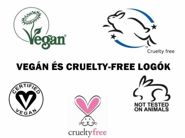cruelty free vegán logó