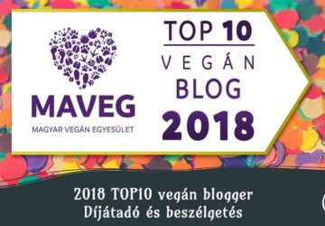 MAVEG Top10 vegán blog