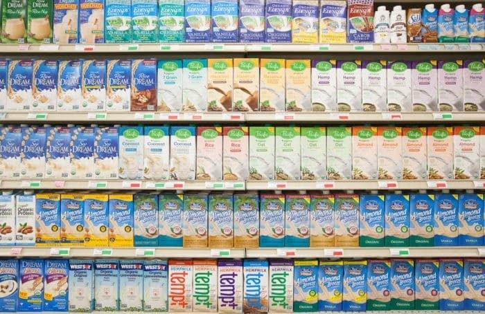 Tejmentes vegán tejtermékek