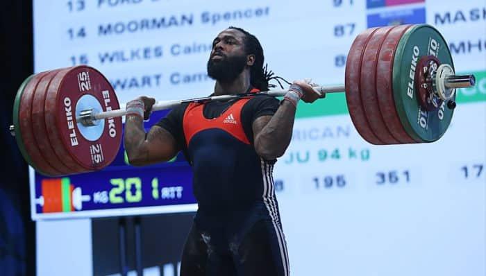 Kendrick Farris vegán sportoló