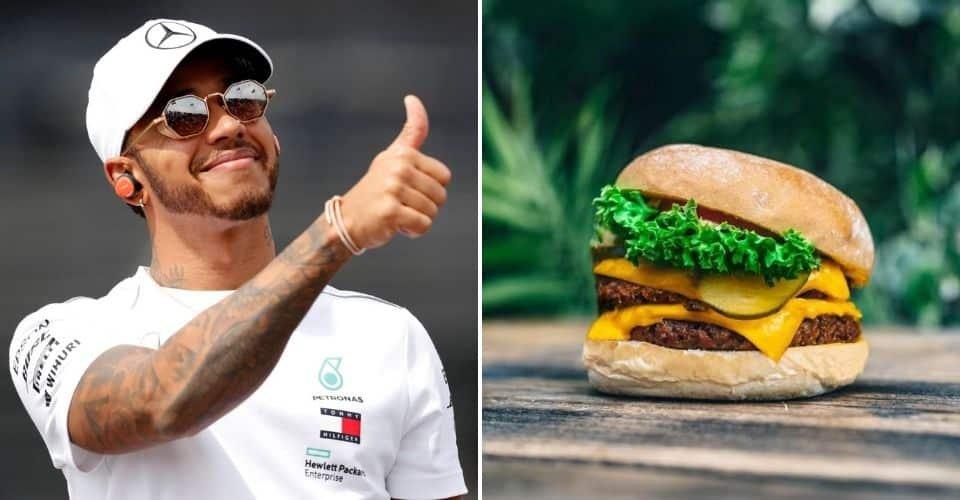 Lewis Hamilton vegán burgerezőt nyit