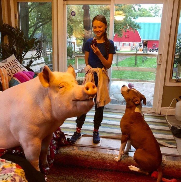 Greta Thunberg meglátogatta Esthert
