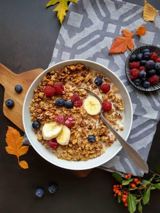 Sütőtökös granola vegán recept
