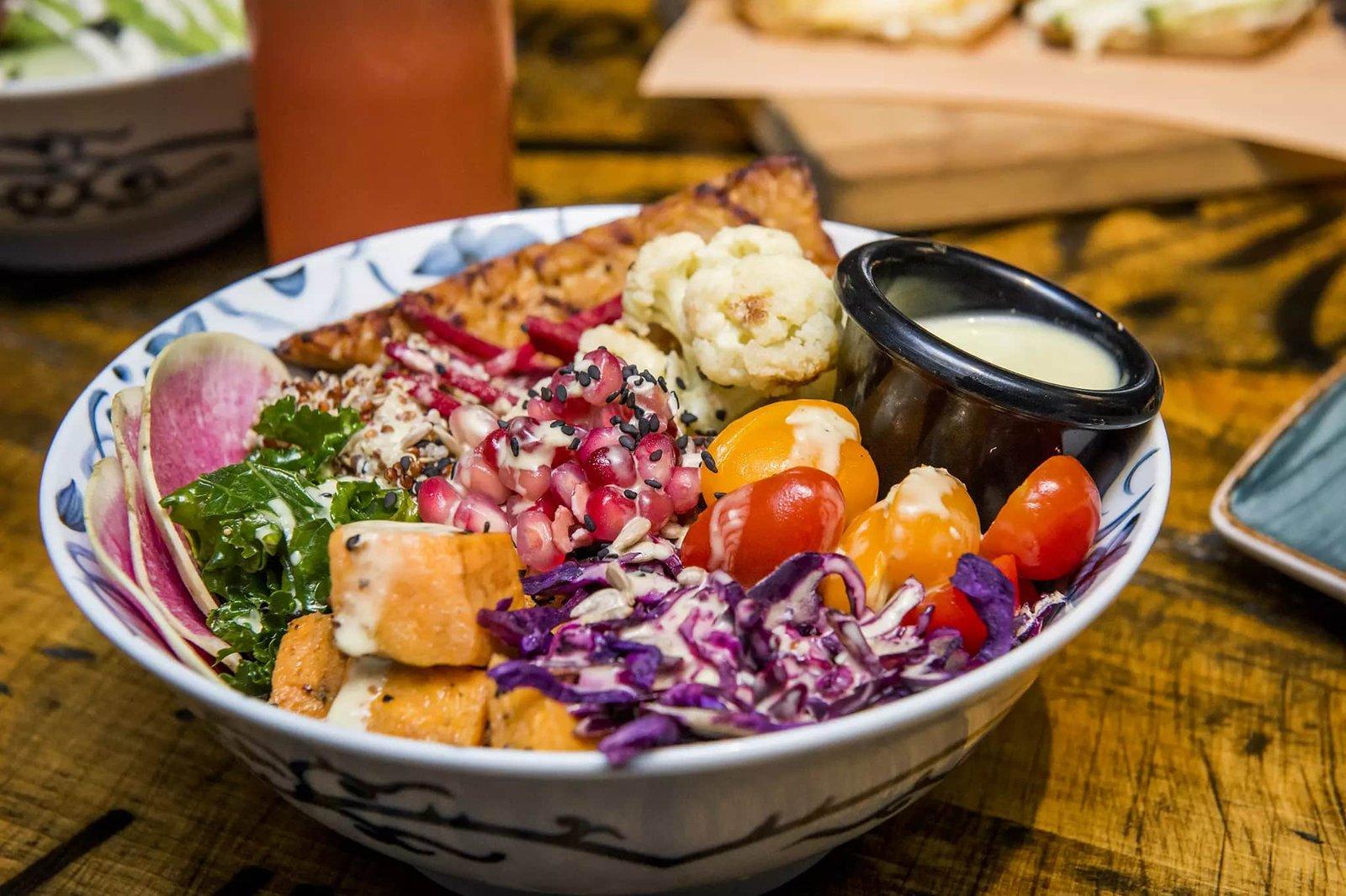 Vegán éttermek + vegán ételrendelés