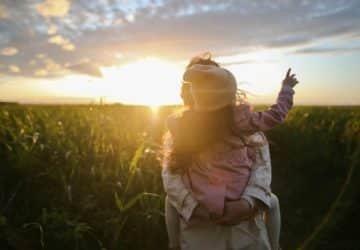 Anya és lánya - vegán szülők