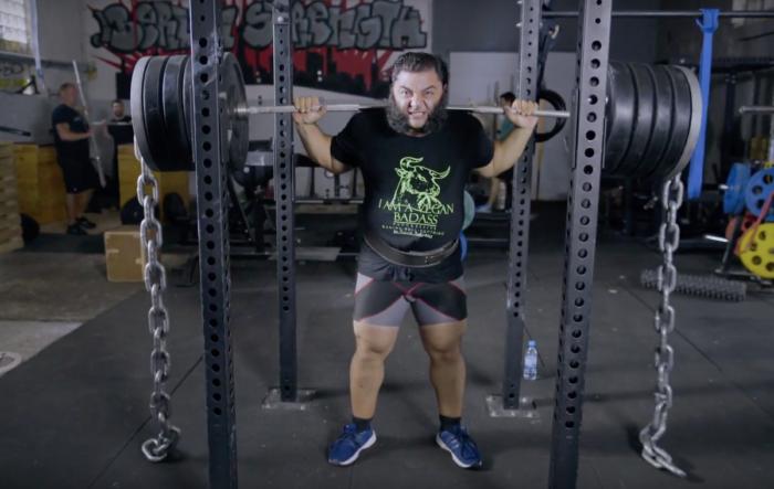 Patrik Baboumiam vegán sportoló
