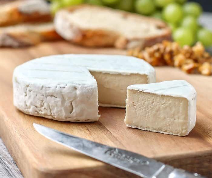 Vegán camambert sajt