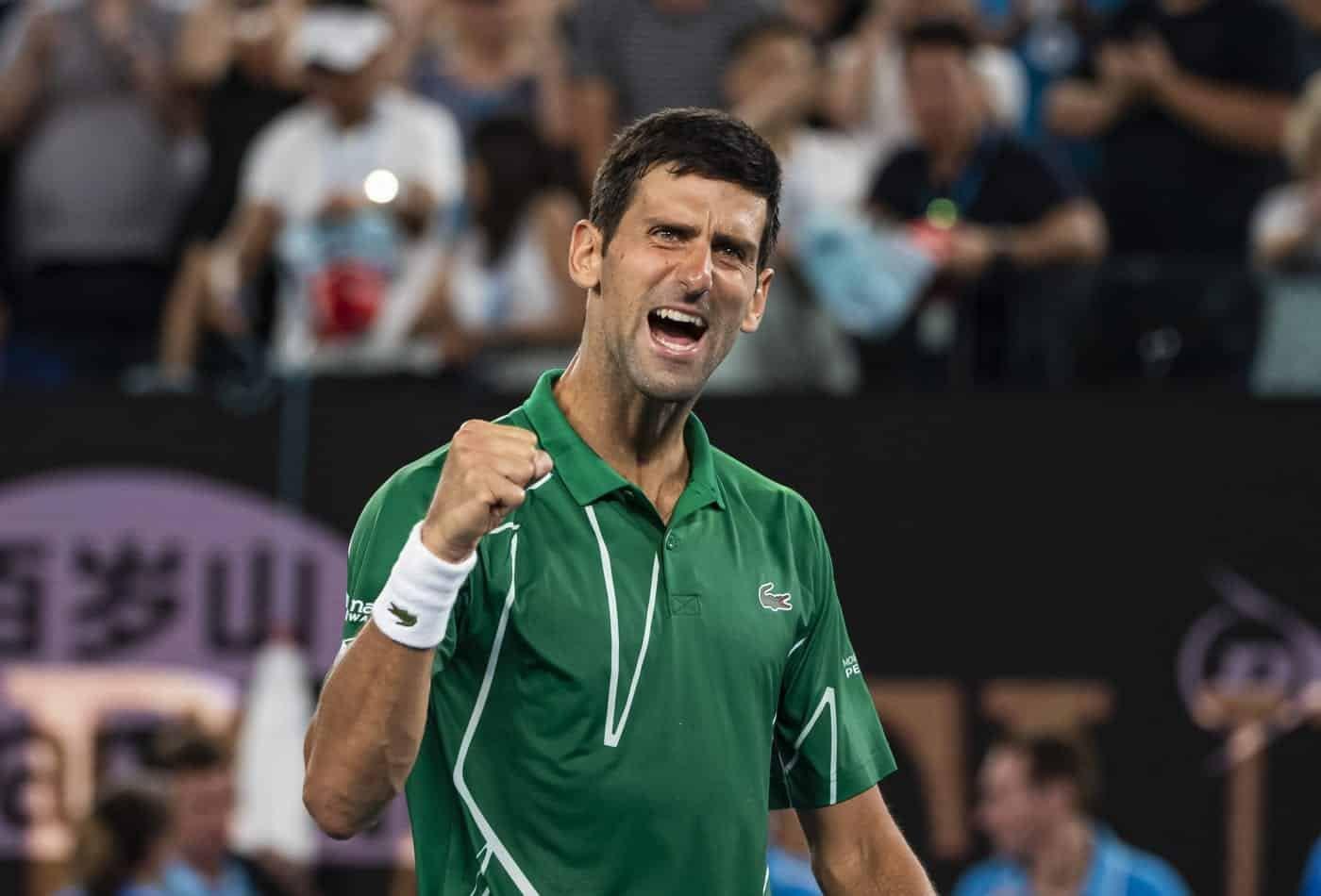 Novak Djokovic vegán étrend
