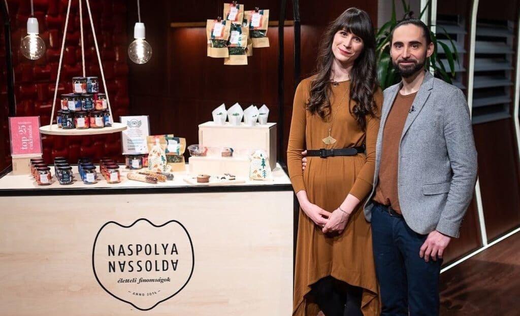 Naspolya Nassolda - Bárányos Réka és Novák Ádám, RTL Klub Cápák Között
