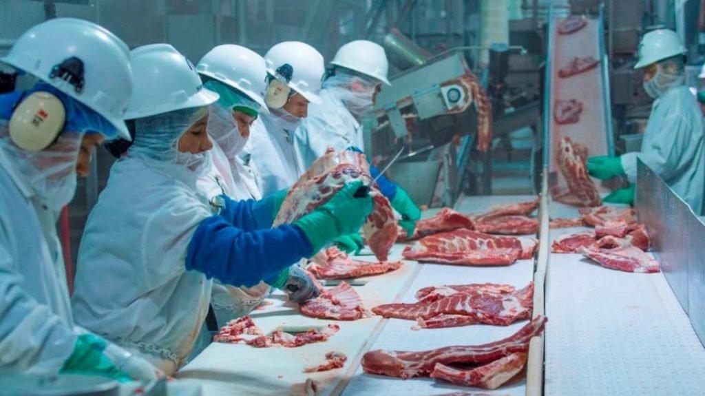Húsipari dolgozók koronavírus