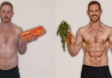 Max Hertan vegetáriánusból vegán