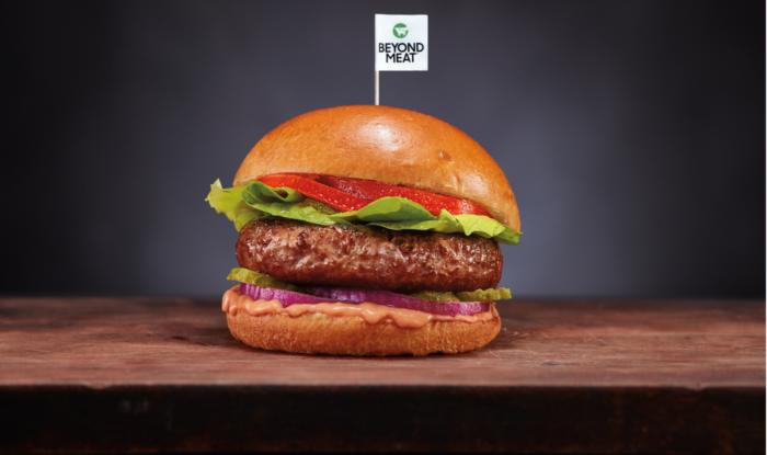 Beyond Meat hamburger Magyarországon