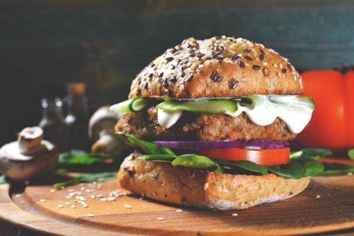 A vegán hamburger jobb a Földnek