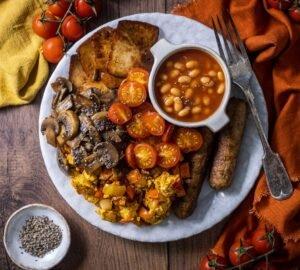 Angol reggeli recept