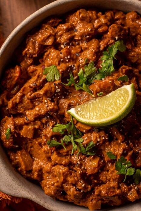 Chili Sin Carne - vegán csilisbab